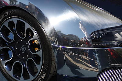 Bugatti Front Art Print by Michael Albright