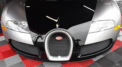 Photograph - Bugatti by Judith Rhue