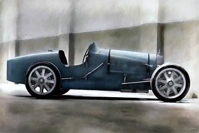 Digital Art - Bugatti Legend by Peter Chilelli