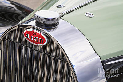 Photograph - Bugatti Type 57c by Dennis Hedberg