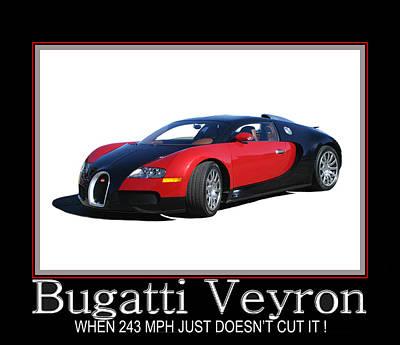 Photograph - Bugatti Veyron by Jack Pumphrey