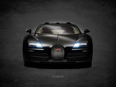 Supercar Photograph - Bugatti Veyron by Mark Rogan