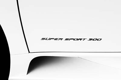 Photograph - Bugatti-veyron, Super Sport 300 by Michael Hope