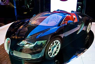 Bugatti Veyron Targa Art Print