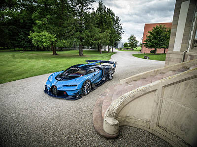 Bugatti Vision Gt Art Print
