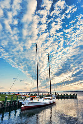 Photograph - Bugeye - Chesapeake Maritime Museum by Dana Sohr