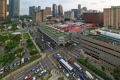 Photograph - Bugis Village Junction In Singapore Entertainment District by David Gn