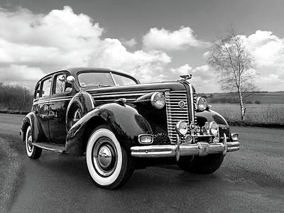 Photograph - Buick 8 1938 Sedan by Gill Billington