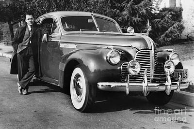 Photograph - Buick Circa Roadmaster 1940 by California Views Archives Mr Pat Hathaway Archives