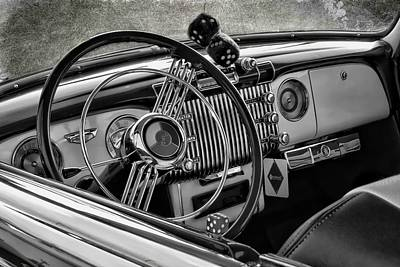 Photograph - Buick Dash by Victor Montgomery