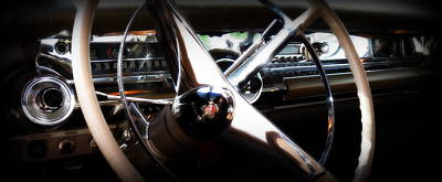 Photograph - Buick Dashboard by Guy Pettingell