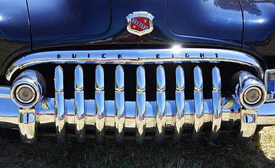 Photograph - Buick Eight by Angi Parks