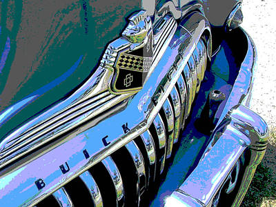Buick Eight Art Print by Audrey Venute