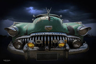 Photograph - Buick Eight by Keith Hawley