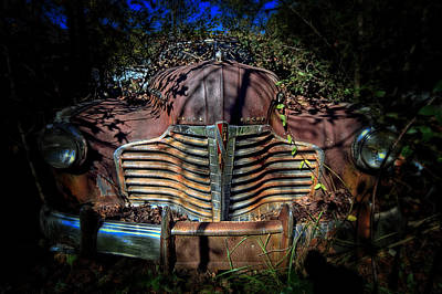 Photograph - Buick Eight Roadmaster by Alan Raasch