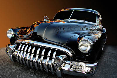 Buick Eight Sled Art Print by Bill Dutting