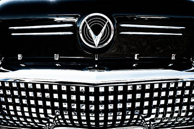 Photograph - Buick Front Grill by M G Whittingham