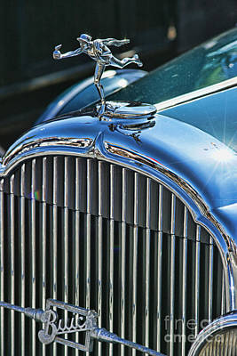 Book Quotes - Buick Grill and Hood Ornament by Randy Harris
