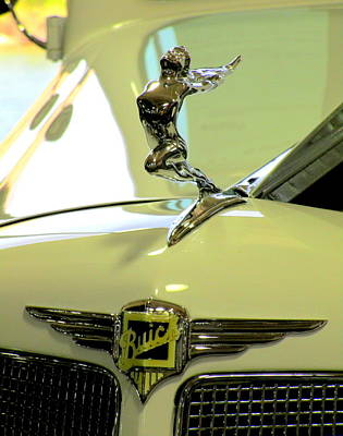 Photograph - Buick Hood Ornament by Randall Weidner