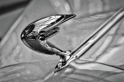 Photograph - Buick Lasalle Hood Ornament #2 by Stuart Litoff