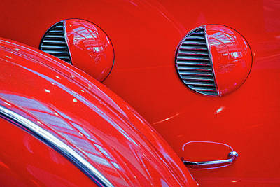 Photograph - Buick Lasalle Portholes And Fender #3 by Stuart Litoff