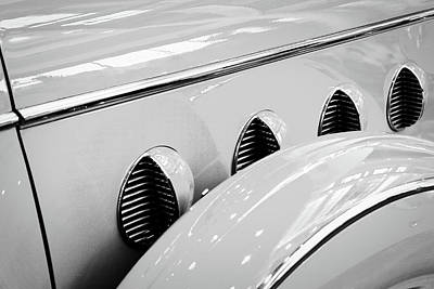 Photograph - Buick Lasalle Portholes And Fender by Stuart Litoff