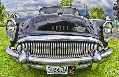 Photograph - Buick by Lawrence Christopher