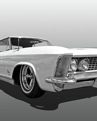 Photograph - Buick Riviera Vertical by Gill Billington