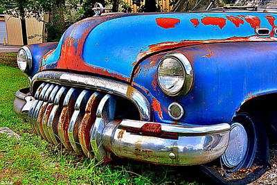 Red Photograph - Buick Super by Lisa Wooten