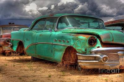 Photograph - Buick Super by Tony Baca