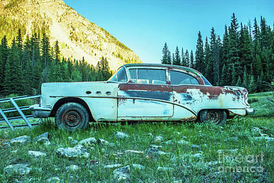 Photograph - Buick by Tony Baca