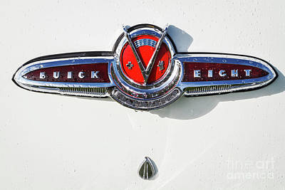 Photograph - Buick V Eight by Dennis Hedberg