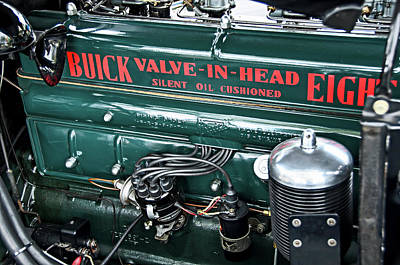 Photograph - Buick Valve In Head Eight by David Lawson