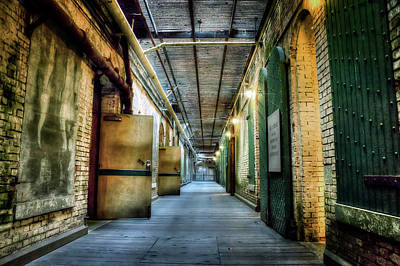 Alcatraz Photograph - Building 64 Interior - Alcatraz Island by Jennifer Rondinelli Reilly - Fine Art Photography