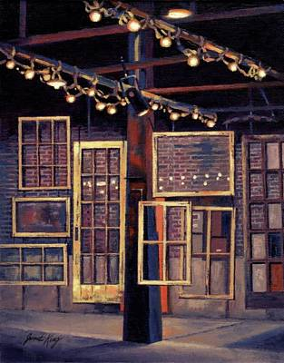 Historic Franklin Tennessee Painting - Building 8 At The Factory by Janet King