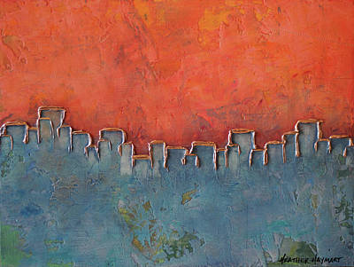 Mixed Media - Building A Future by Heather Haymart