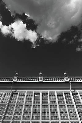 Photograph - Building And Cloud #5340 by Andrey Godyaykin