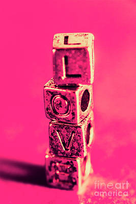 Royalty-Free and Rights-Managed Images - Building blocks of love by Jorgo Photography