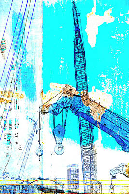 Mixed Media - Building Boats by Carol Leigh