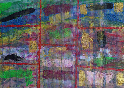 Mixed Media - Building Bricks by Russell Simmons