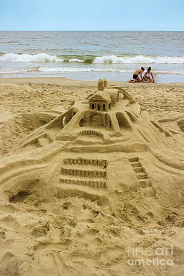 Photograph - Building Castles In The Sand by Colleen Kammerer