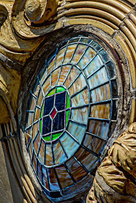 Photograph - Building Detail 5527 N Clark St Dsc_7899 by Raymond Kunst