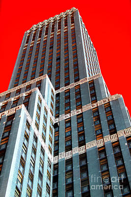 Photograph - Building Dimensions Pop Art by John Rizzuto