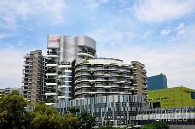 Photograph - Building Of Ng Teng Fong General Hospital Jurong East Singapore by Imran Ahmed