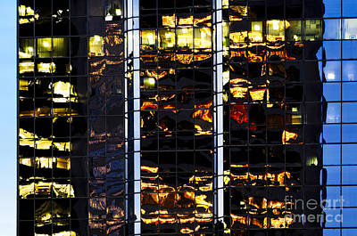 Photograph - Building Reflecting Onto Windows Ccxxvi  by Amyn Nasser