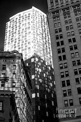 Photograph - Building Shadows by John Rizzuto