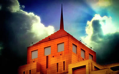 Photograph - Building Spires by Joseph Hollingsworth