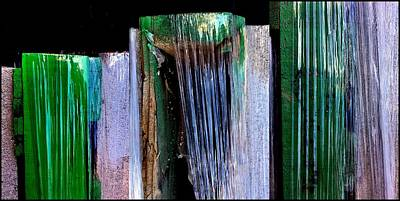 Painting - Building Supply Abstracts by Marlene Burns