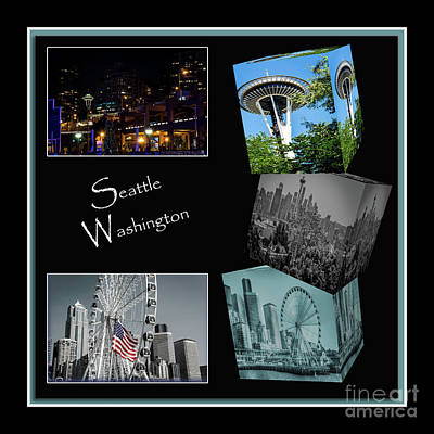 Photograph - Building Up Seattle by Deborah Klubertanz