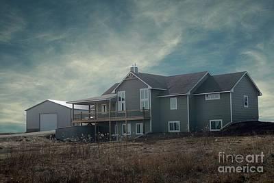 Photograph - Buildings 01 Enhanced by E B Schmidt